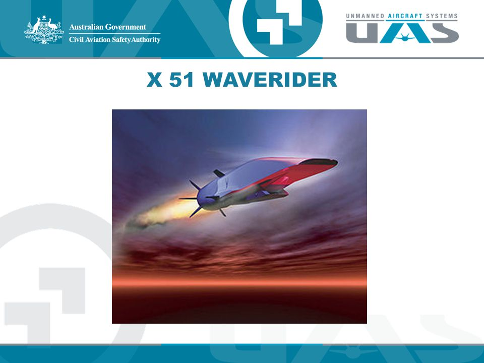 X 51 WAVERIDER