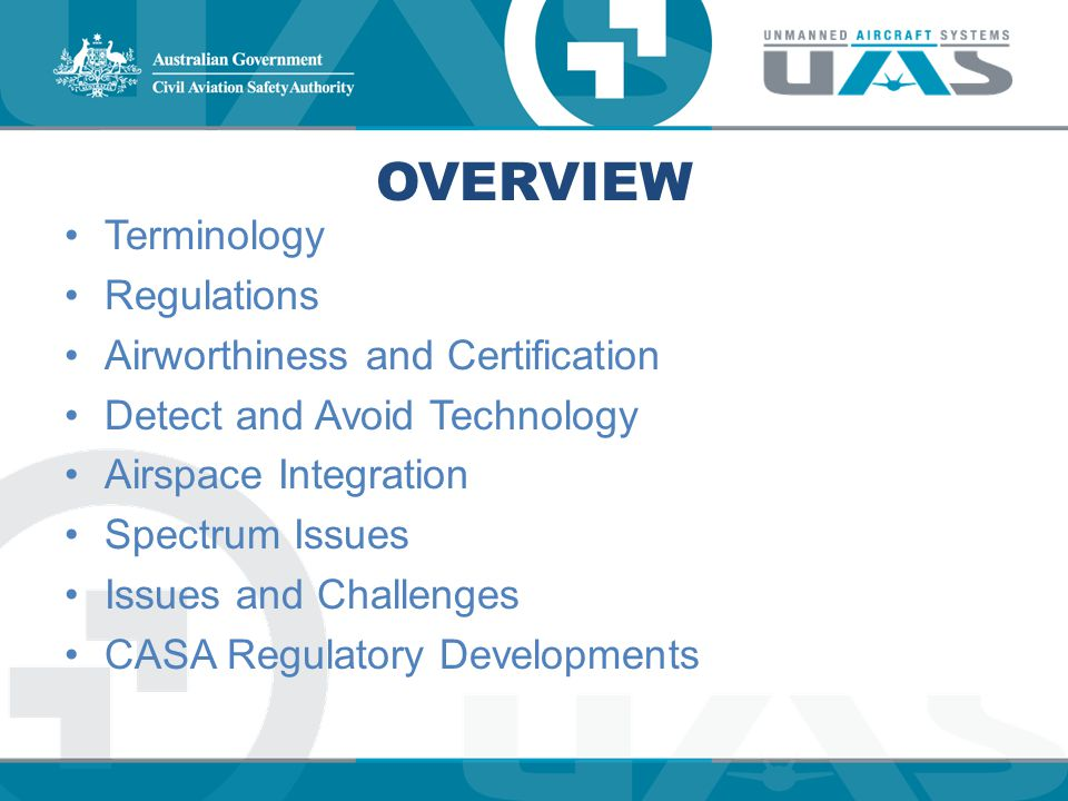 Overview Terminology Regulations Airworthiness and Certification