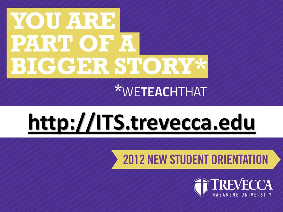 http://ITS.trevecca.edu