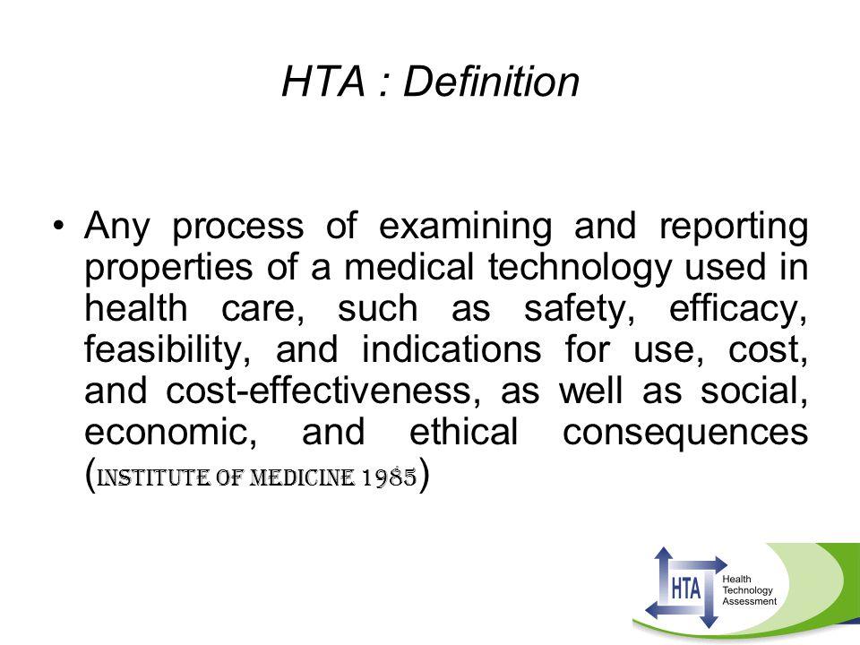 HTA : Definition