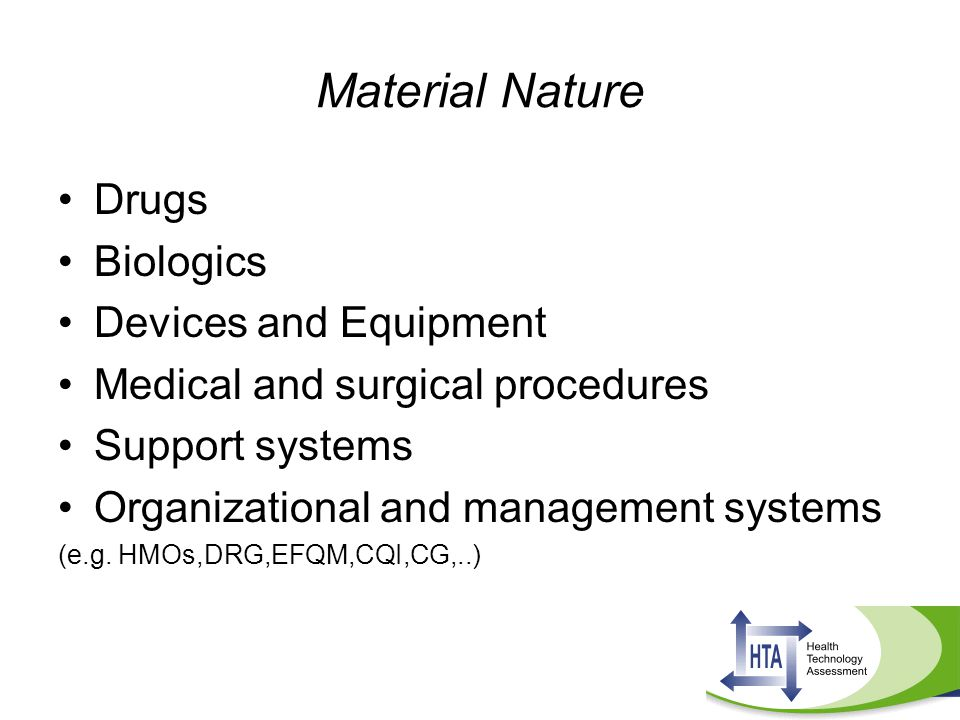 Material Nature Drugs Biologics Devices and Equipment