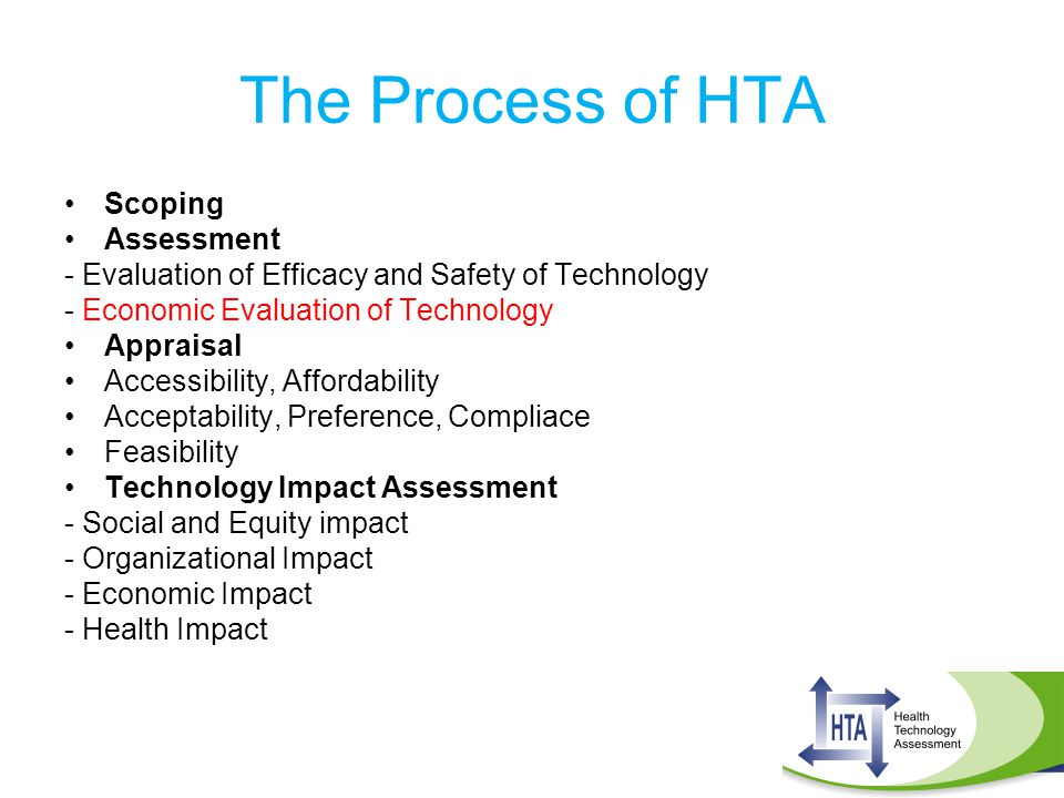 The Process of HTA Scoping Assessment