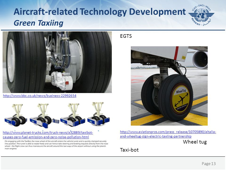 Aircraft-related Technology Development Green Taxiing