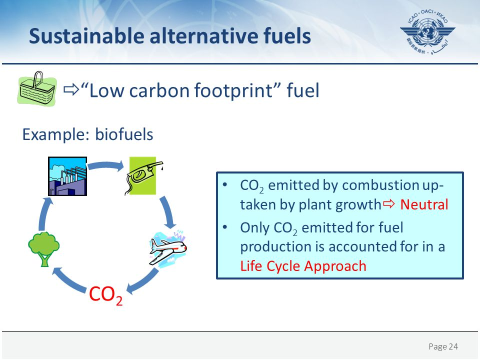 Sustainable alternative fuels
