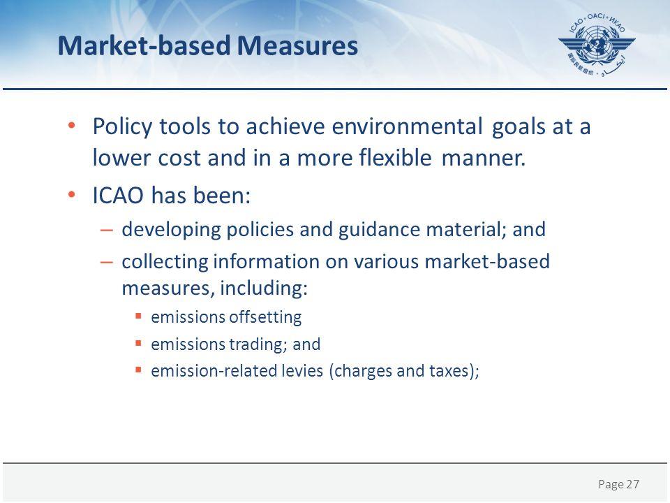 Market-based Measures