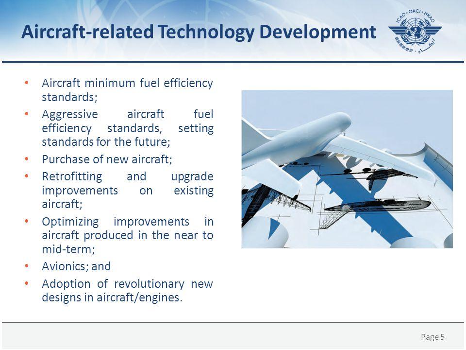 Aircraft-related Technology Development