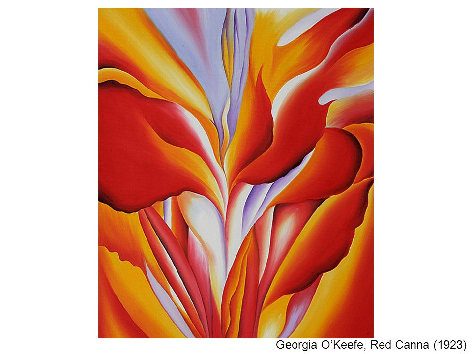 Georgia O'Keefe, Red Canna (1923)