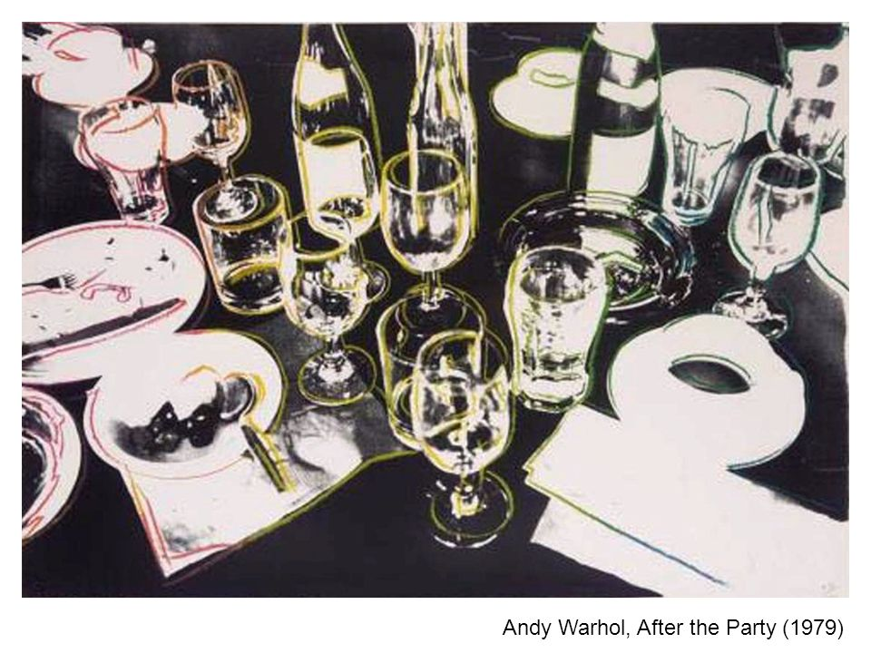Andy Warhol, After the Party (1979)