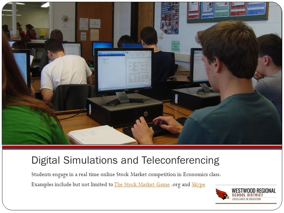 Digital Simulations and Teleconferencing