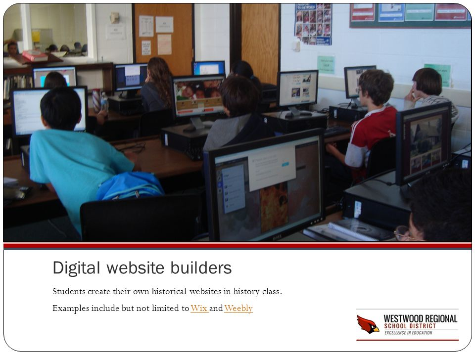 Digital website builders
