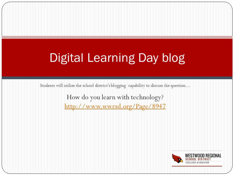 Digital Learning Day blog
