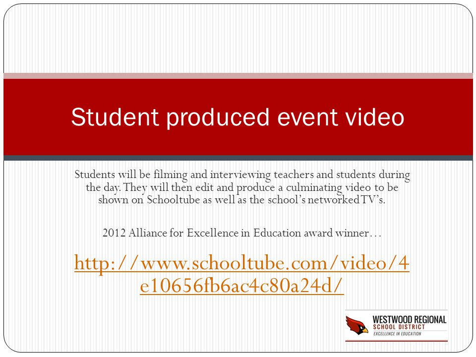 Student produced event video
