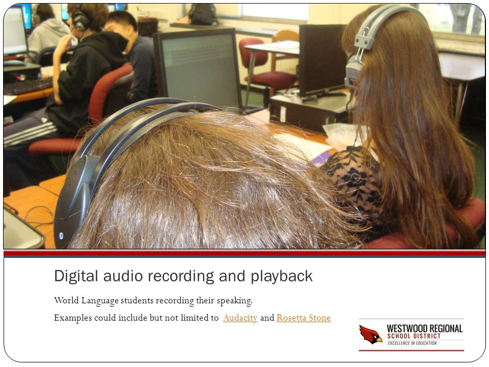 Digital audio recording and playback