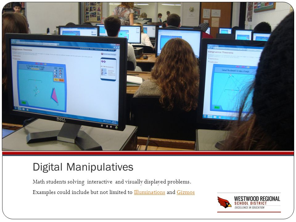 Digital Manipulatives