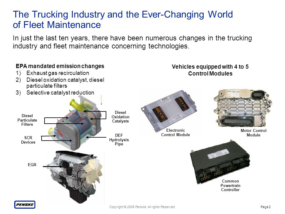 The Trucking Industry and the Ever-Changing World of Fleet Maintenance