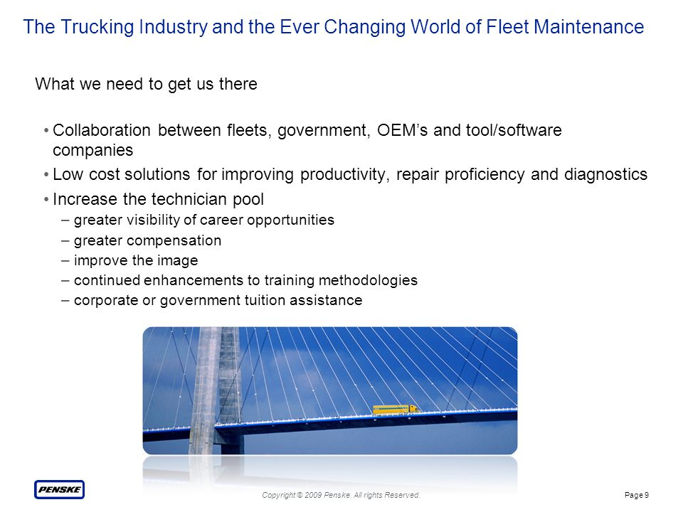 The Trucking Industry and the Ever Changing World of Fleet Maintenance