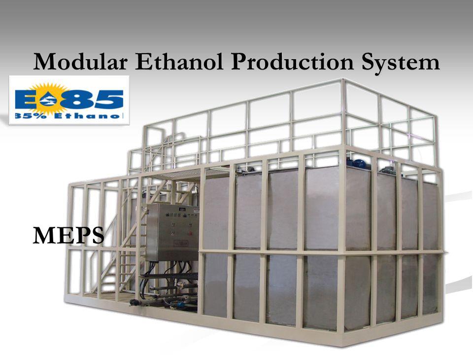 Modular Ethanol Production System
