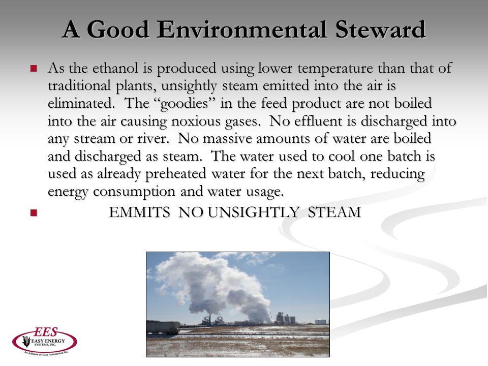 A Good Environmental Steward