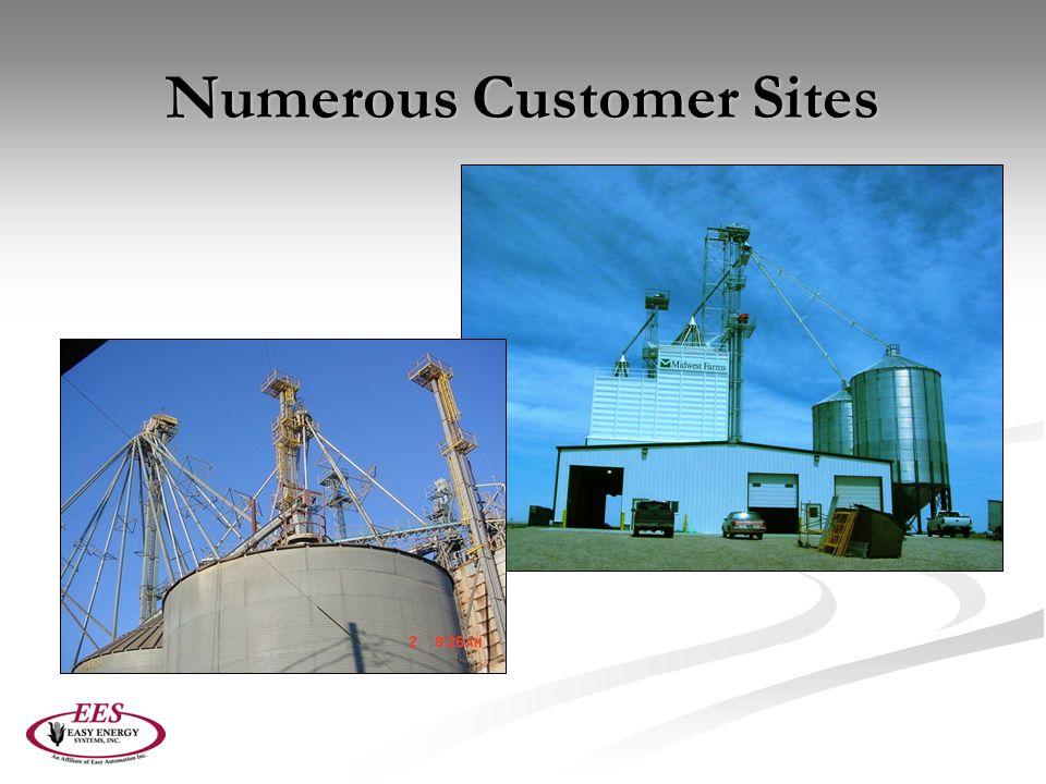 Numerous Customer Sites