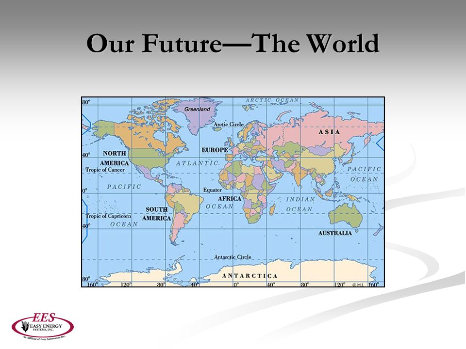 Our Future—The World