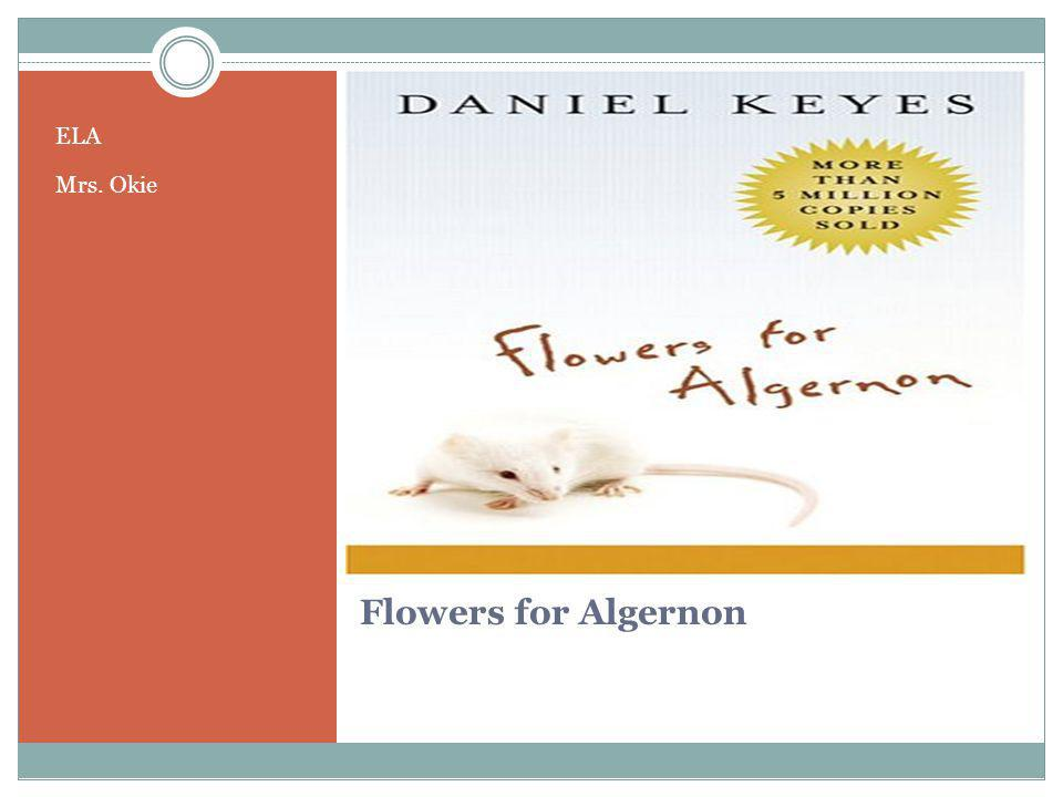 Flowers for Algernon's sad, sweet genius