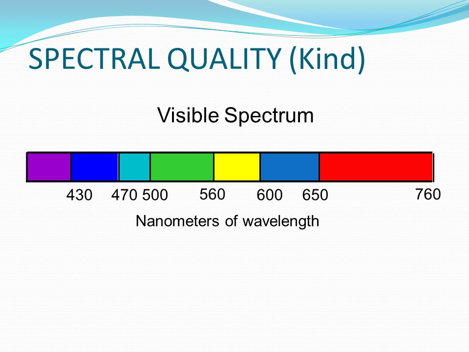SPECTRAL QUALITY (Kind)