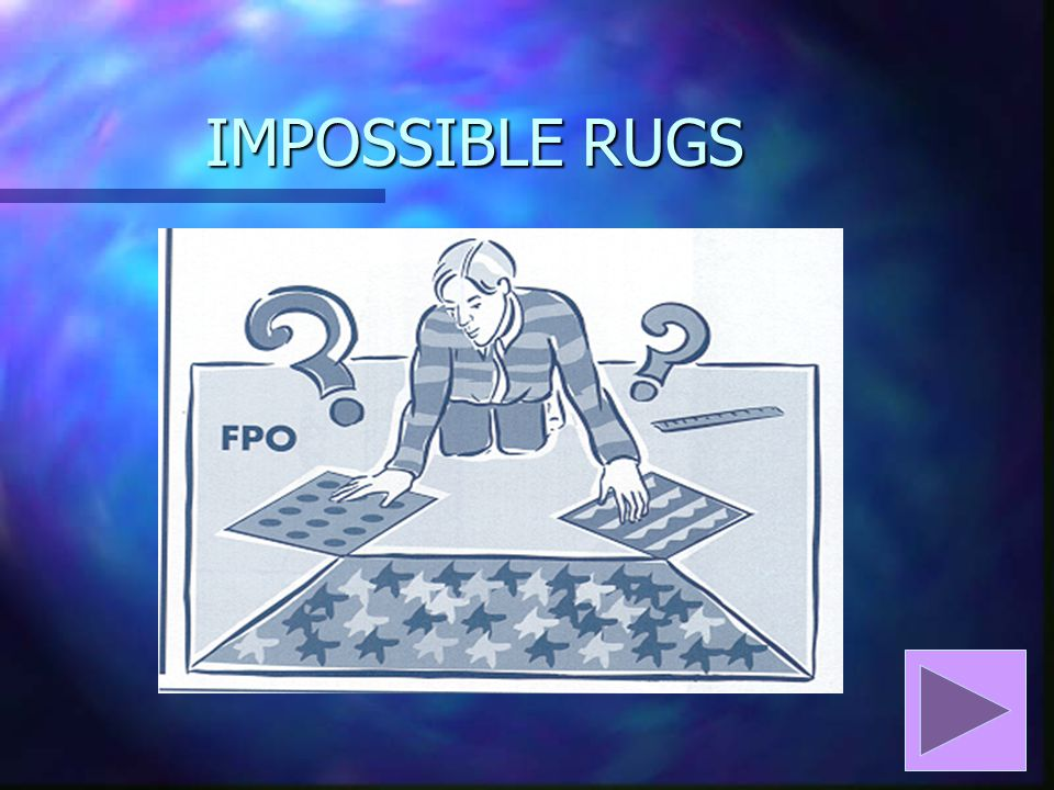 IMPOSSIBLE RUGS