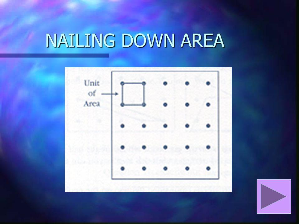 NAILING DOWN AREA