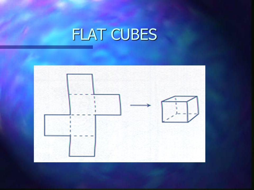 FLAT CUBES