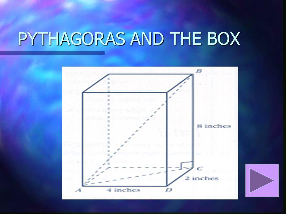 PYTHAGORAS AND THE BOX