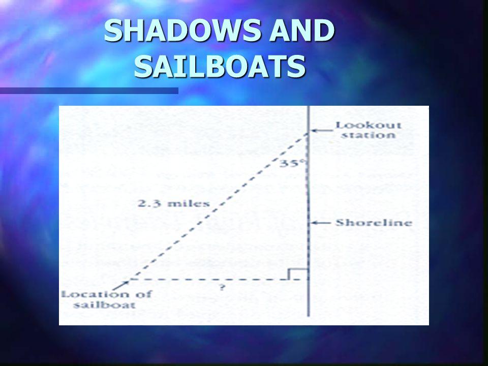 SHADOWS AND SAILBOATS