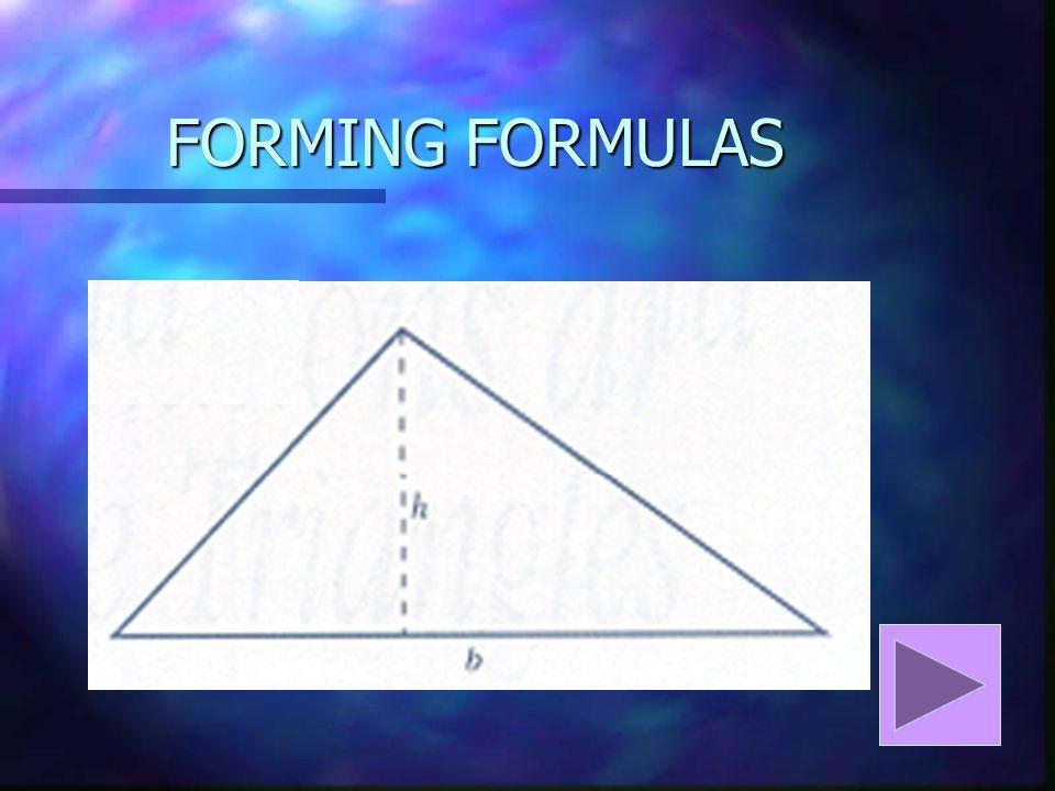 FORMING FORMULAS