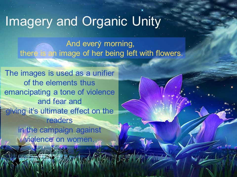 Imagery and Organic Unity