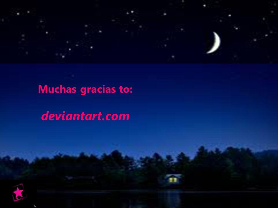 Muchas gracias to: deviantart.com