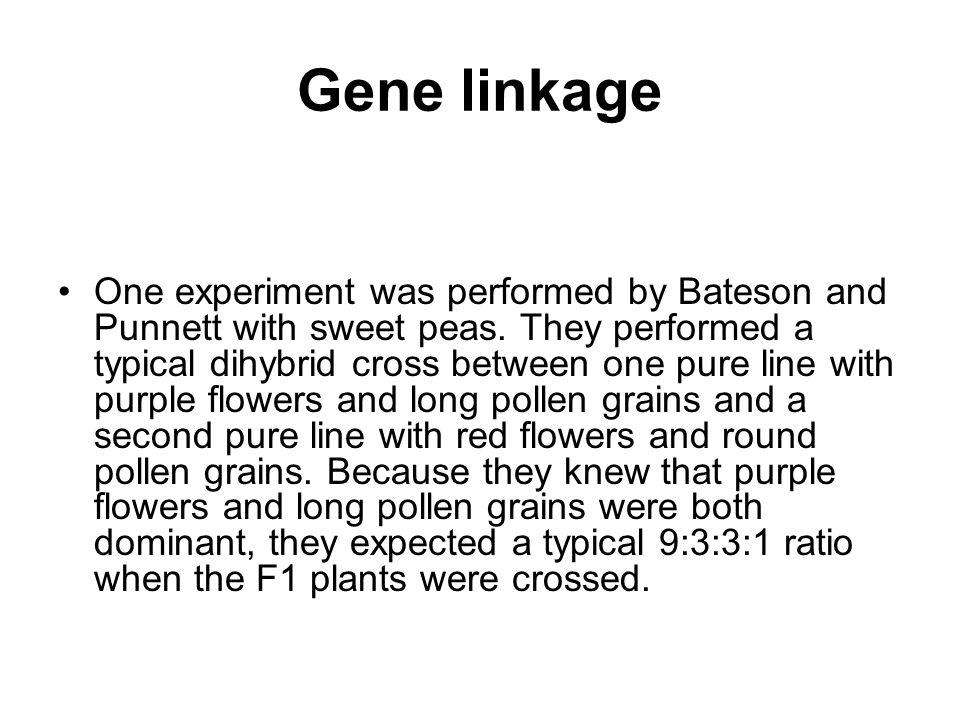 Gene linkage