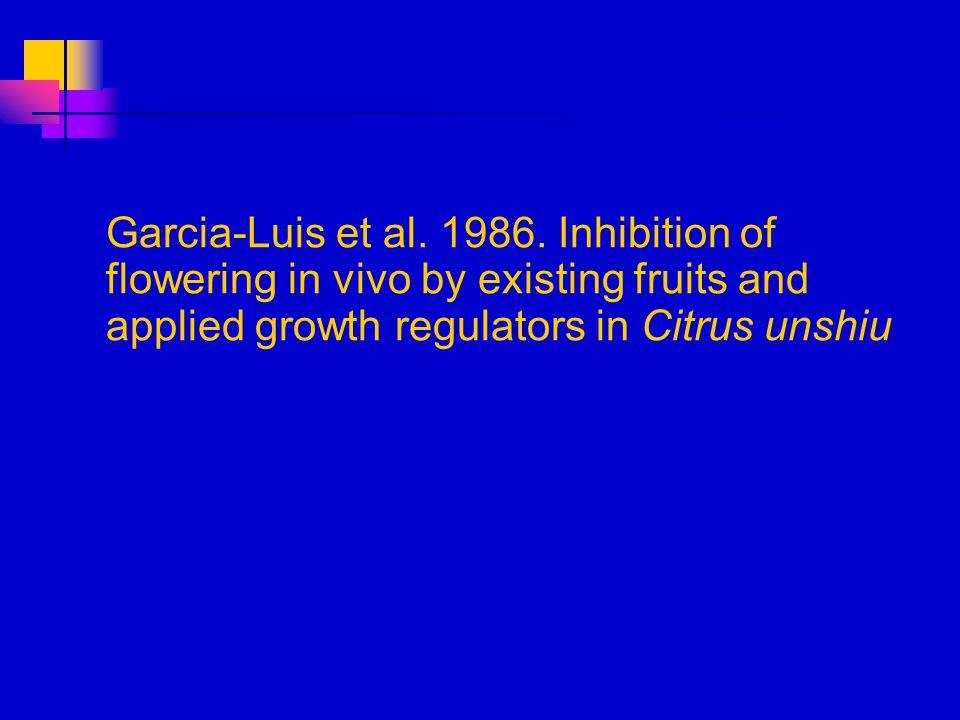 Garcia-Luis et al. 1986.