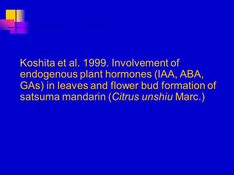 Koshita et al. 1999.
