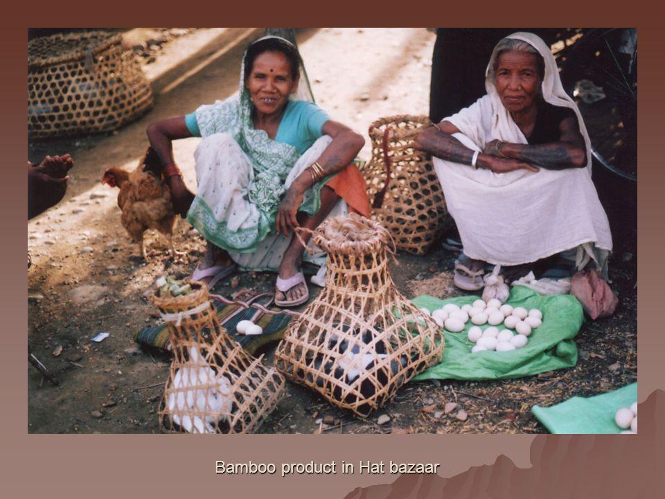 Bamboo product in Hat bazaar