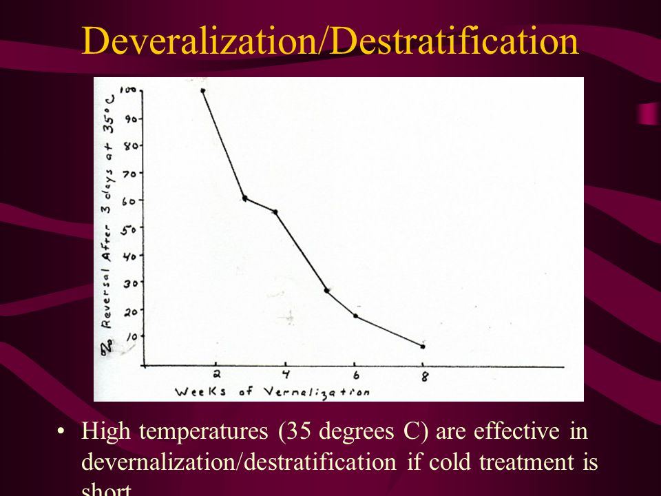 Deveralization/Destratification