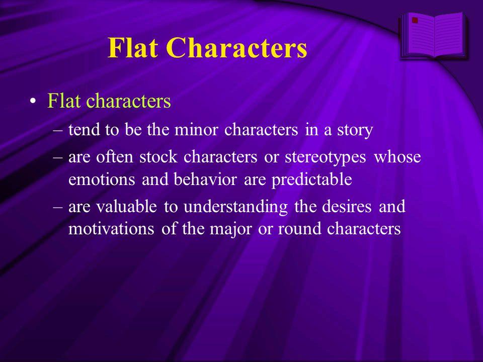Flat Characters Flat characters