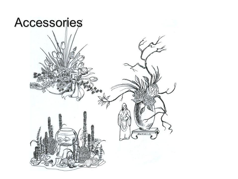 Accessories Hunter, Norah T., The Art of Floral Design Second Edition Delmar 2000.