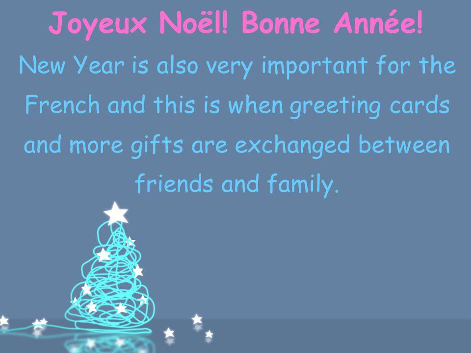 Joyeux Noël! Bonne Année!