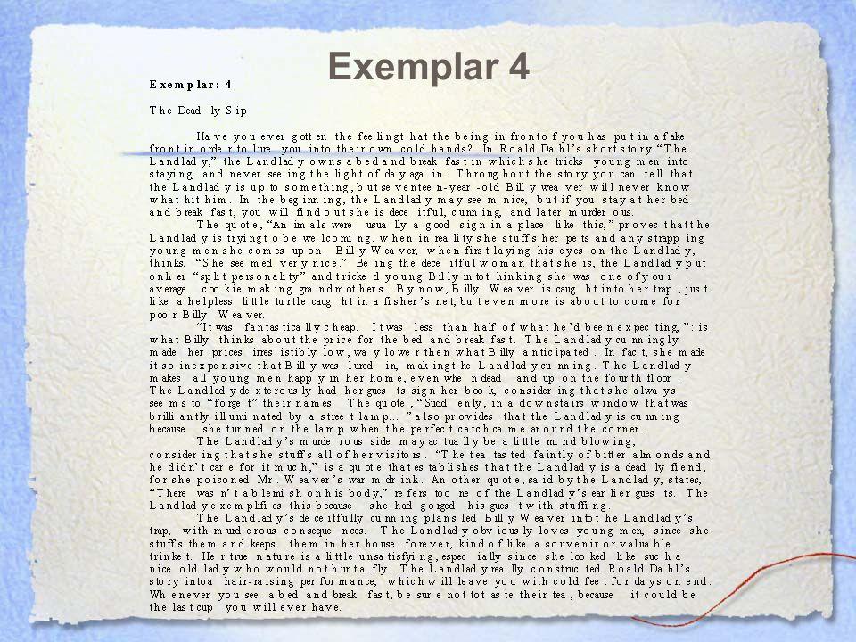Exemplar 4