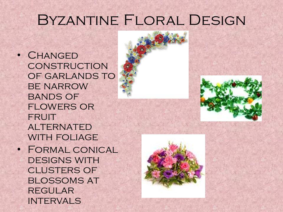 Byzantine Floral Design