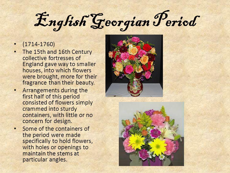 English Georgian Period