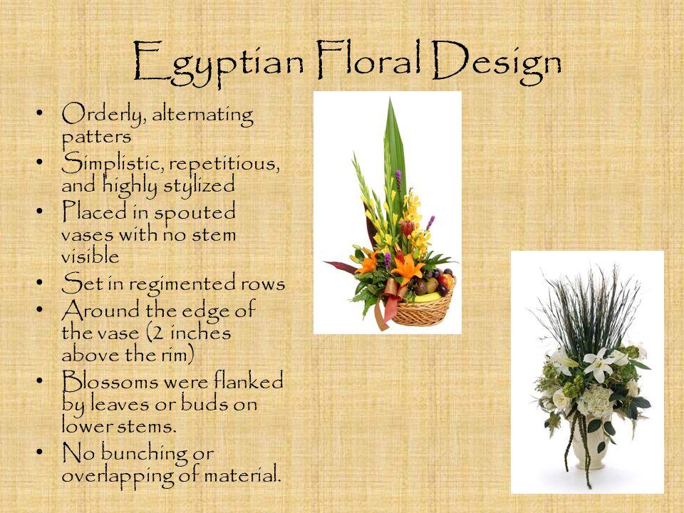 Egyptian Floral Design