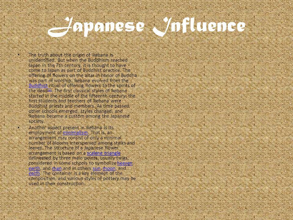 Japanese Influence