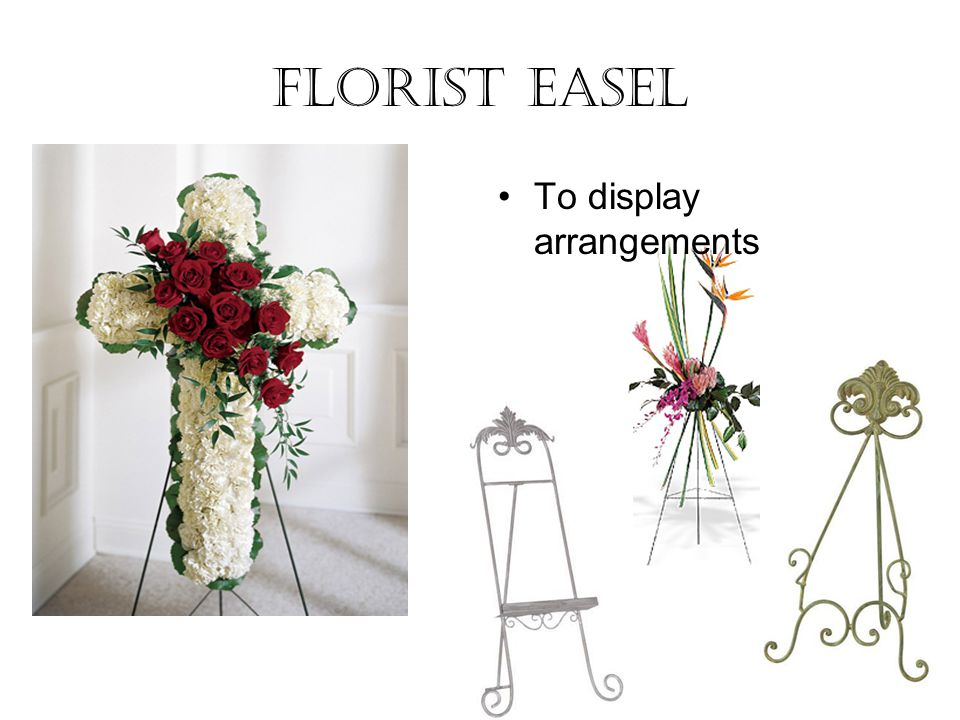 Florist Easel To display arrangements