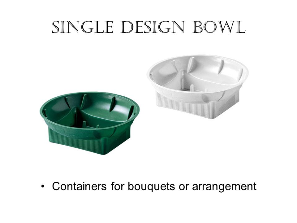 Containers for bouquets or arrangement