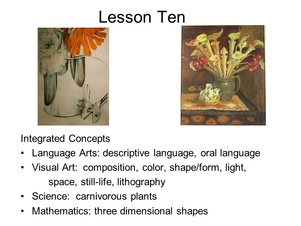 Lesson Ten Integrated Concepts
